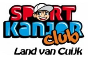ondersteuning van de Sportkanjerclub
