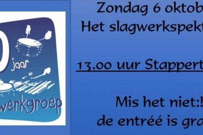 Evenement: Slagwerkfestival 60 jaar Slagwerkgroep Juliana