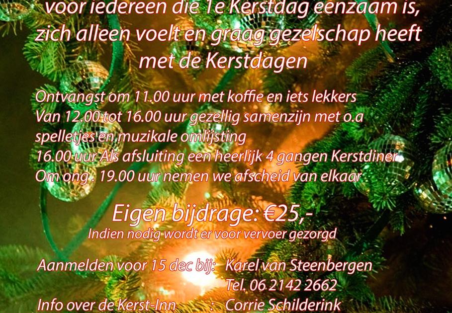 Ook Voor Jou Een Gezellige Kerst Door Platform Gehandicapten Sint
